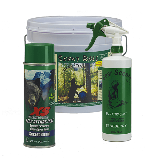 Attractant Starter Package - Bear Scents