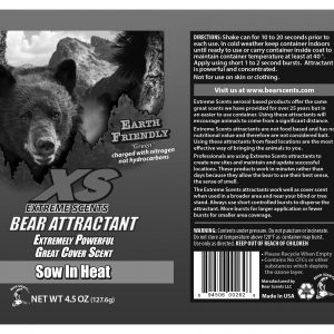 Aerosol-Bearscent-Label-Sow-In-Heat